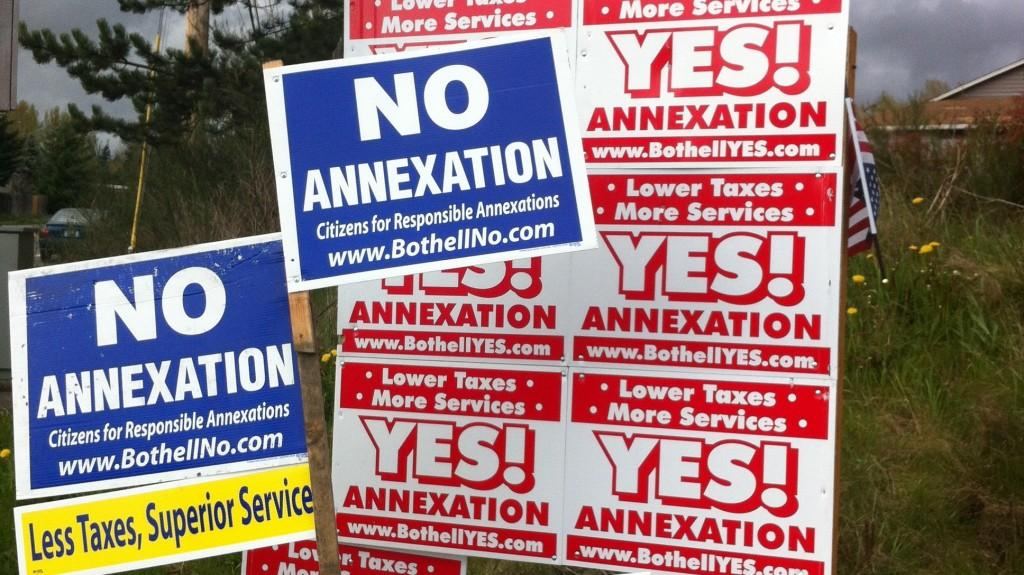 Bothell annexation: Round two