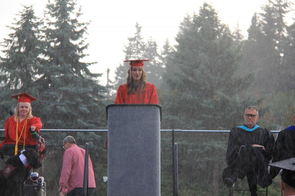 PHOTOS: Graduation 2014, a soggy salute to the seniors