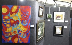 Art show draws huge crowd