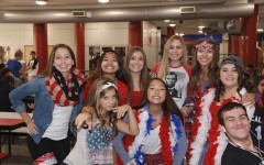 "PHOTOS: Hawks show their patriotism for ""'Merica Monday"""