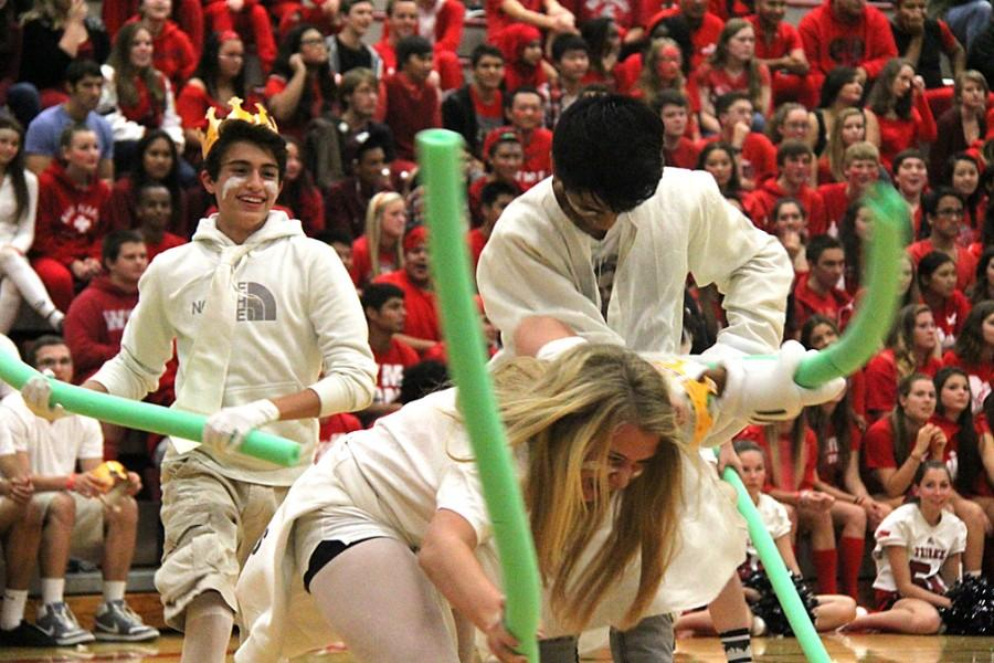 PHOTOS: Students take a journey through fantasy land at the Homecoming assembly