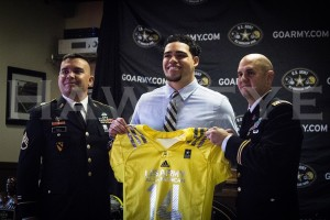 Downs was presented with his U.S. Army All-American Bowl jersey on Friday, Oct. 11.