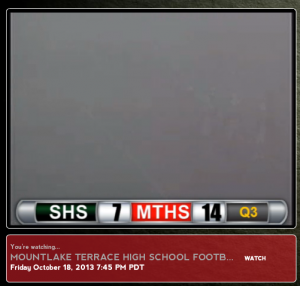 Do not adjust your dial. The fog took over the game in the second half against Shorecrest.