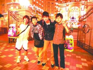 Cuplin's school trip involved spending two nights in the Tokyo Disneyland resort ambassador hotel.